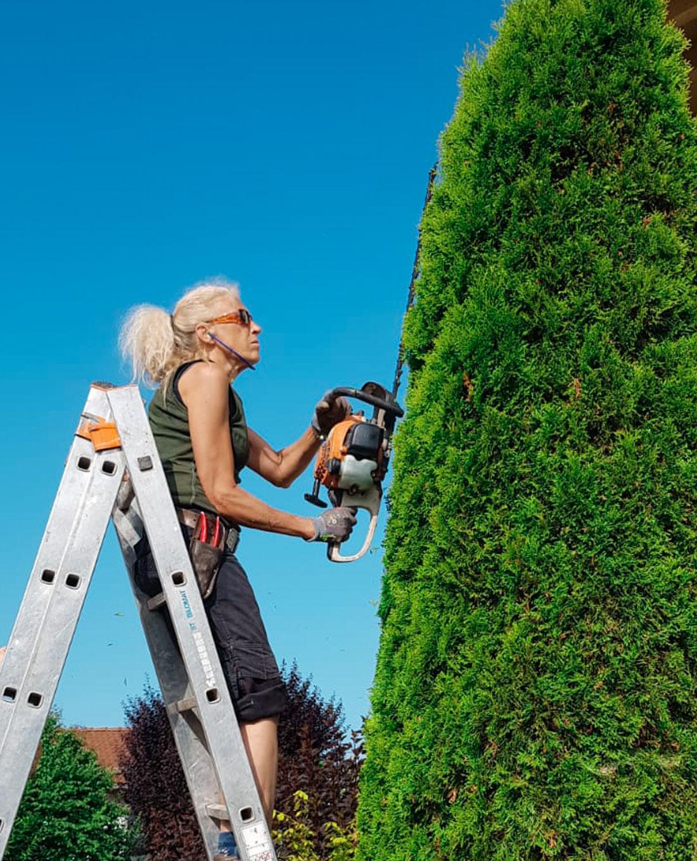 Gartenpflege | Meisterin Garten- und Landschaftsbau Ruth Haggenmüller | Hecke schneiden